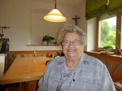 90. Geburtstag Pardeller Helene