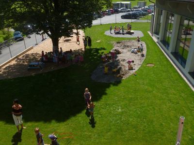 Garteneröffnung, Kindergarten Kirchdorf am 05. Juli 2017