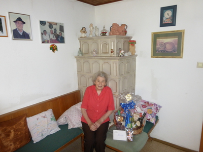 85. Geburtstag Staffler Ursula