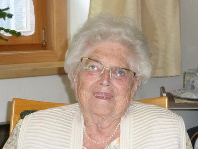 90. Geburtstag Obholzer Edith
