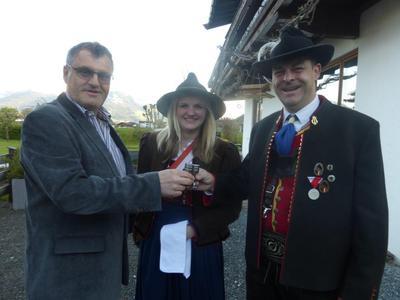 Antrittsbesuch der BMK Kirchdorf beim Bürgermeister