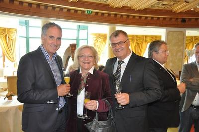 """Eröffnung Saunagarten im Hotel """"Der Lärchenhof"""""""