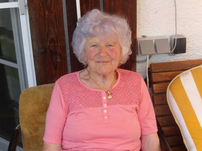 90. Geburtstag Sammer Johanna
