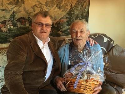 90. Geburtstag Zlöbl Gidi